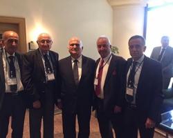 خلال دعوتي الى الاردن في لقاء الأمير حسن في منتدى الفكر العربي والذري للعائلات المقدسية
